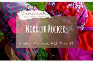 Nähanleitung Freebook kostenloses Schnittmuster Nordish Rockers Wintermütze