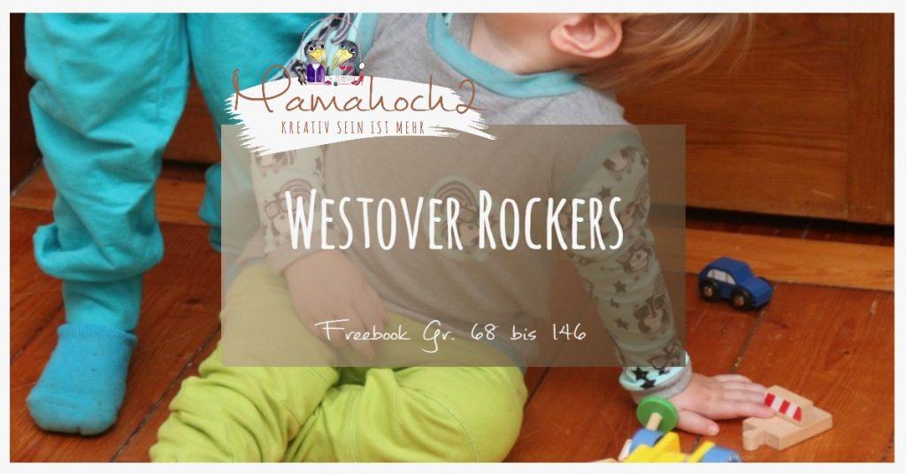 Nähanleitung Freebook kostenloses Schnittmuster Westover Rockers