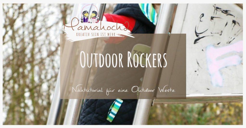 Nähanleitung Outdoor Rockers Nähtutorial Outdoor Weste