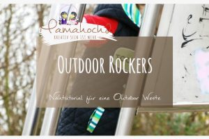 Nähanleitung Outdoor Rockers Nähtutorial Outdoor Weste