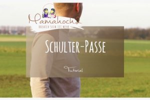 Nähanleitung Schulter-Passe Leder Tutorial G´Man Rockers