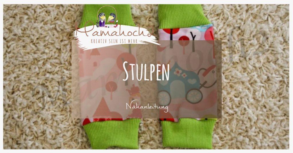 Herbstoutfit 2 Nähanleitung Stulpen Mamahoch2