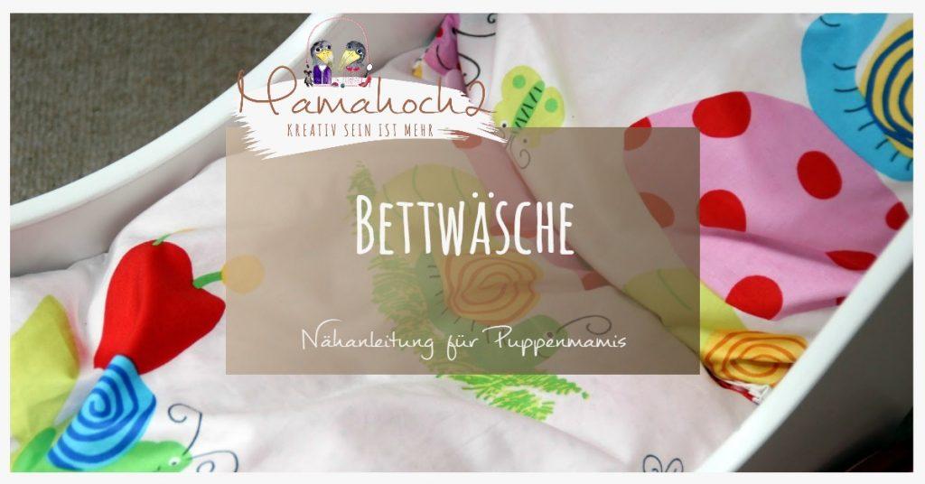 selbstgenähte Bettwäsche ⋆ Mamahoch2