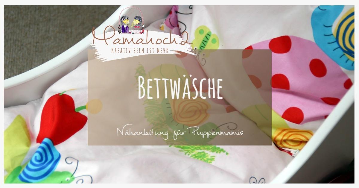 Selbstgenähte Bettwäsche Mamahoch2