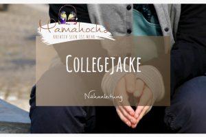 Nähanleitung Tutorial College Jacke G´man Rockers