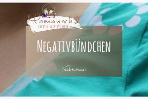 Nähtipp: Negativbündchen zum Aufpeppen