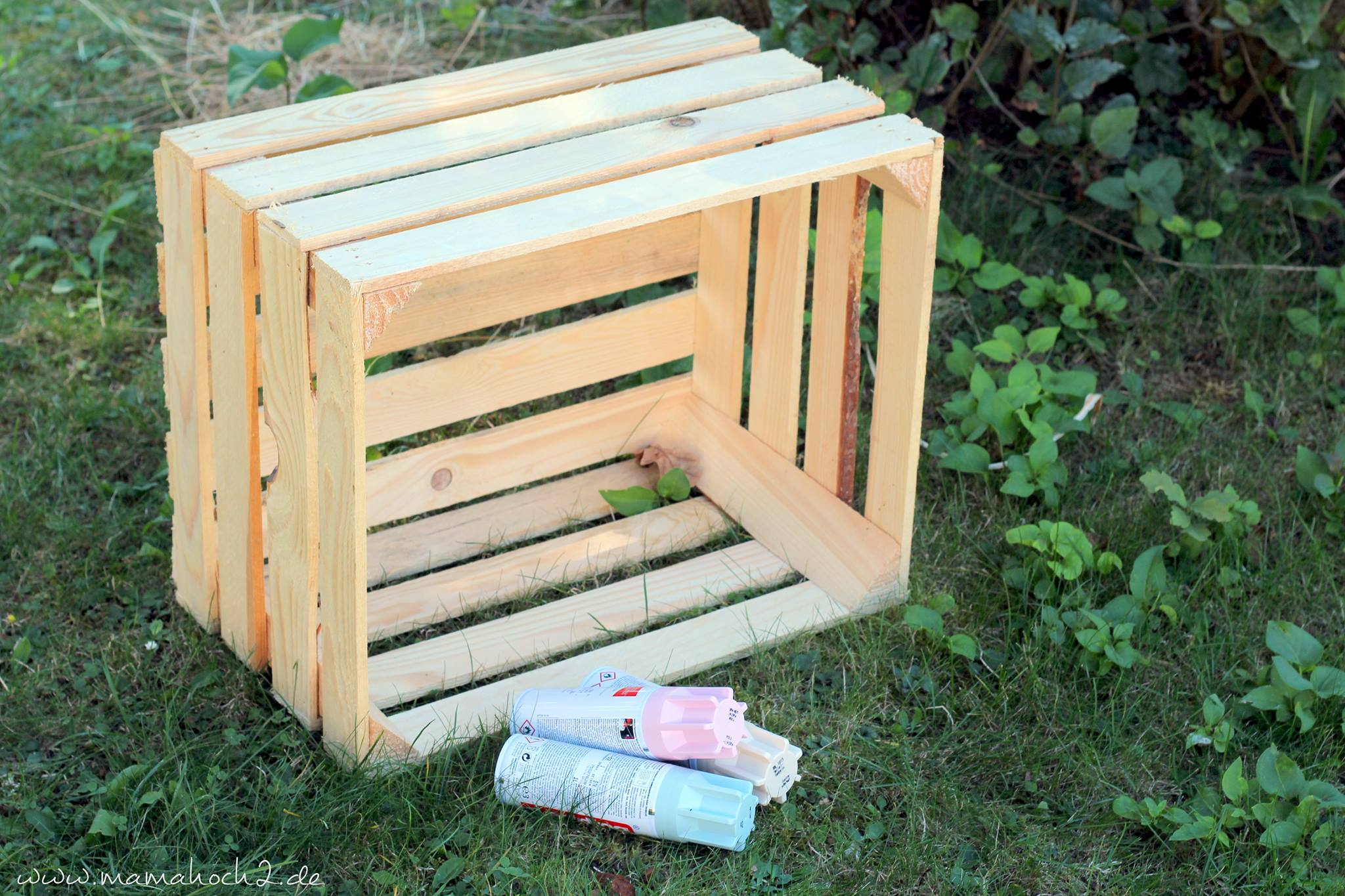 diy hochbeet kinder weinkisten obstkisten garten beet pflanzkiste 8 mamahoch2. Black Bedroom Furniture Sets. Home Design Ideas
