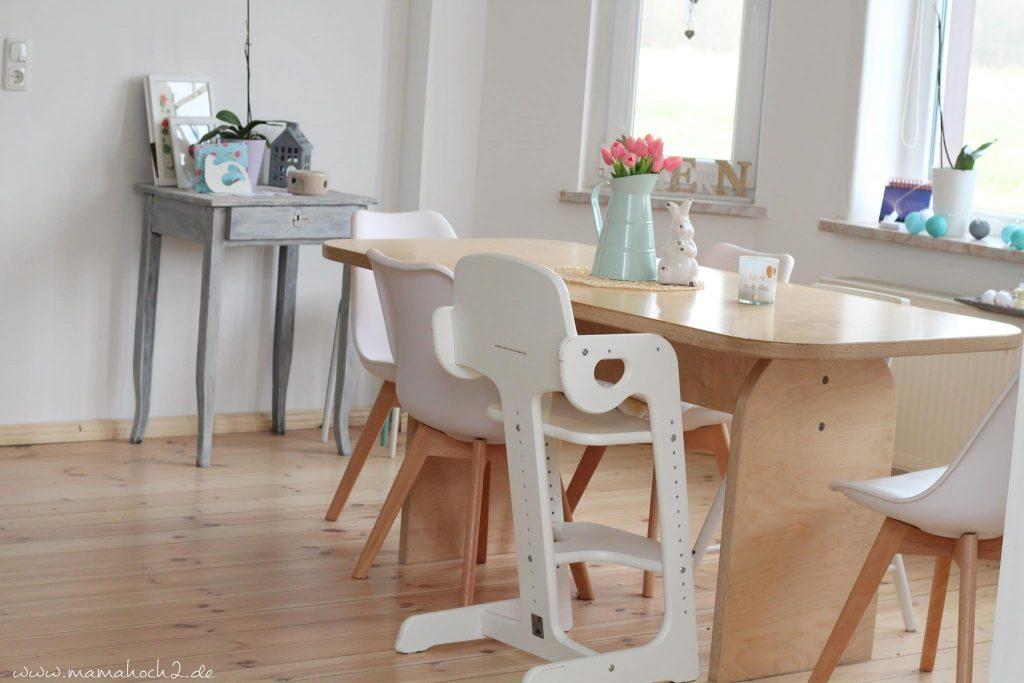 esszimmer offenes wohnen landhausküche familienküche landhaus skandinavisch diele kinderküche (2)