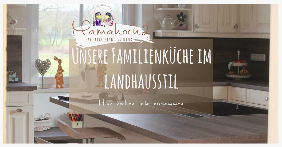 Küchen landhausstil skandinavisch  küche landhausküche familienküche landhaus skandinavisch diele ...