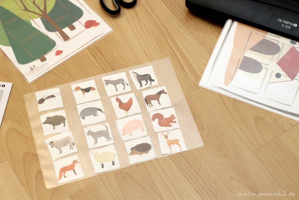 montessori zu hause montessoriathome legespiel tierspiel zuordnungsspiel tierordnung lernen übungen kindergarten (11)