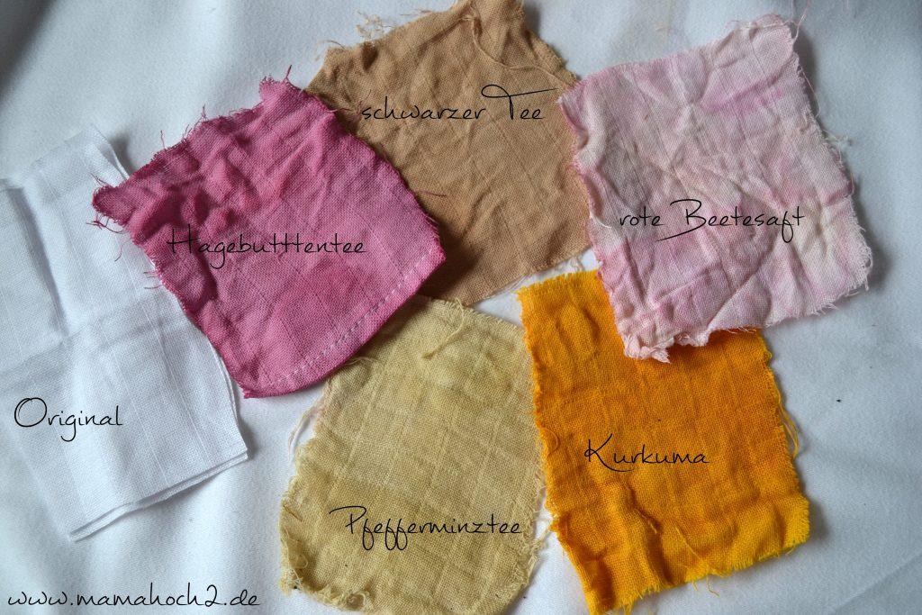 Musselin färben – Stoffe naürlich färben 16