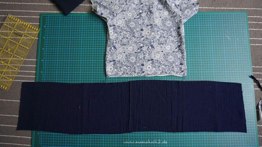 Nähanleitung Kleid Volant mit Musselin (12)
