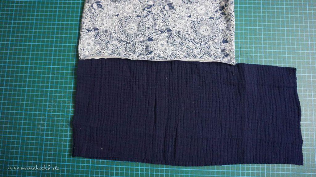 Nähanleitung Kleid Volant mit Musselin (13)