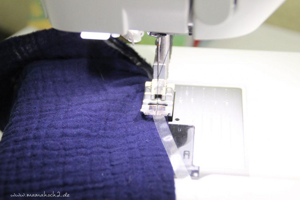 Nähanleitung Kleid Volant mit Musselin (23)