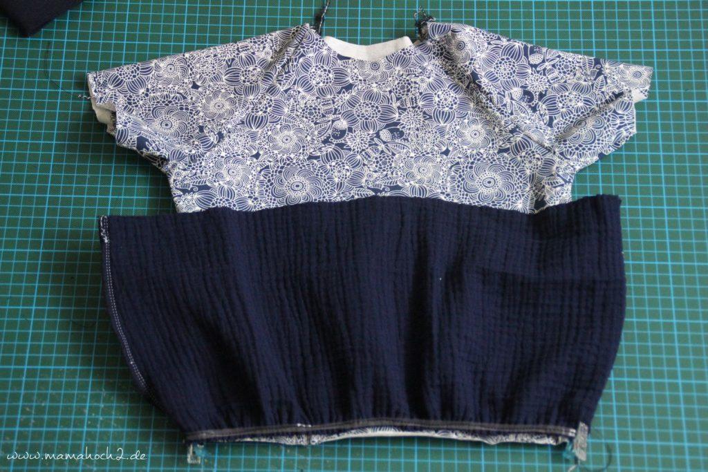 Nähanleitung Kleid Volant mit Musselin (26)
