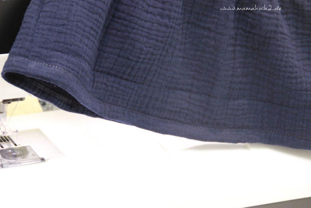 Nähanleitung Kleid Volant mit Musselin (28)