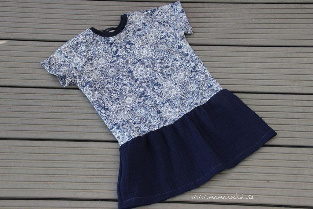 Nähanleitung Kleid Volant mit Musselin (29)