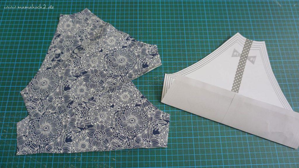 Nähanleitung Kleid Volant mit Musselin (6)