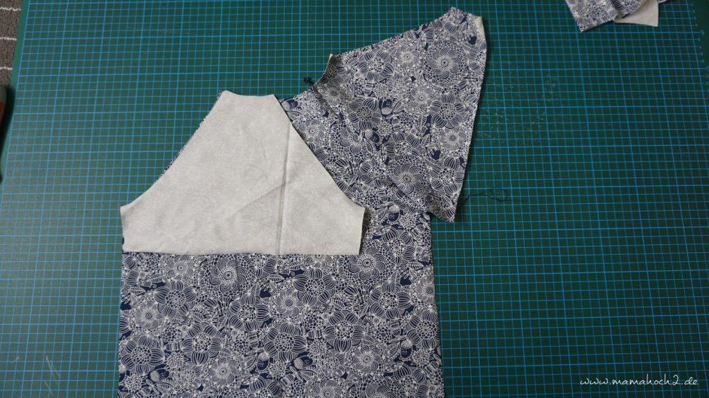 Nähanleitung Kleid Volant mit Musselin (8)