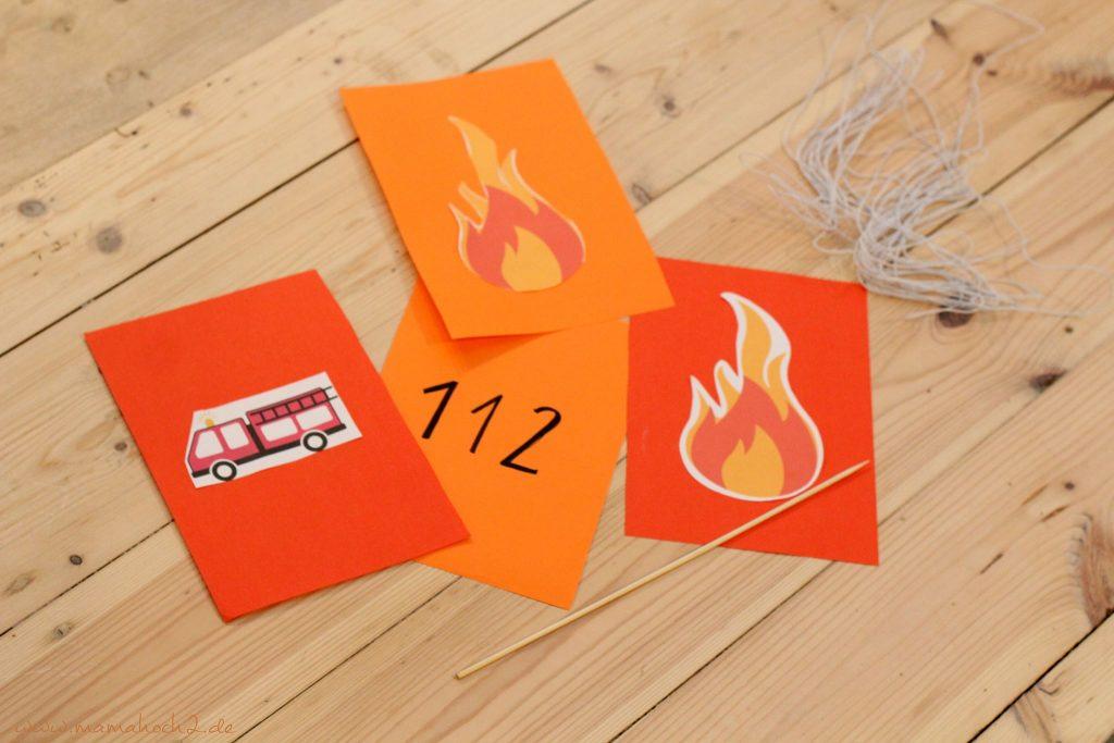 feuerwehrparty diy ideen kindergeburtstag firefighter party inspiration (13)