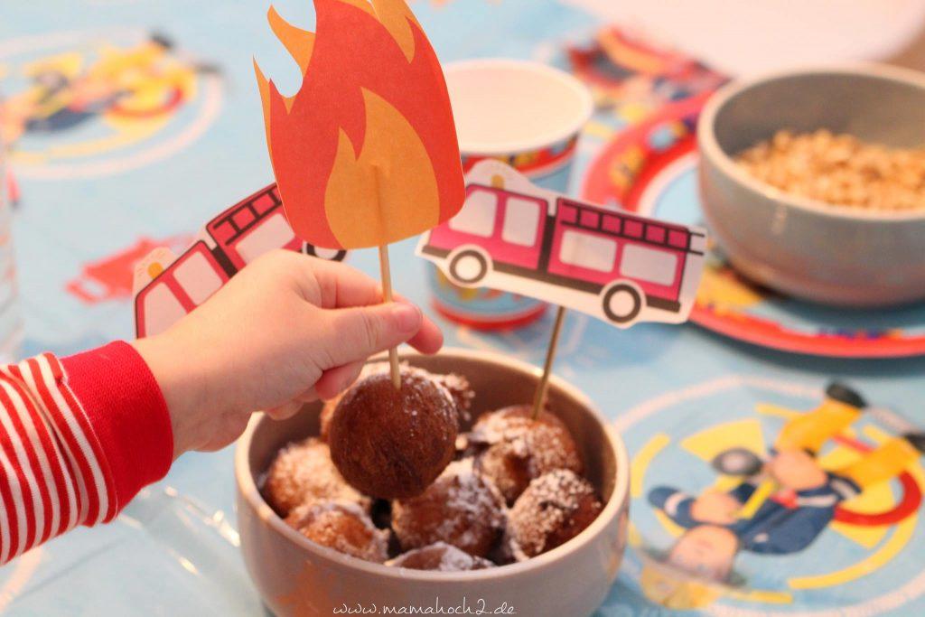 feuerwehrparty diy ideen kindergeburtstag firefighter party inspiration (19)