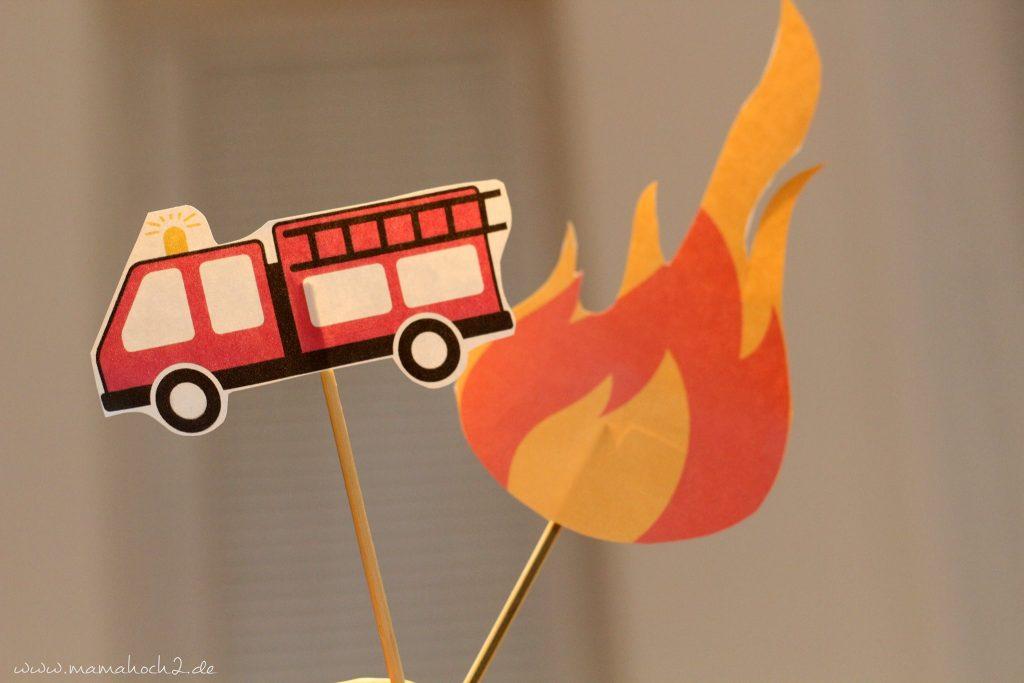 feuerwehrparty diy ideen kindergeburtstag firefighter party inspiration (22)