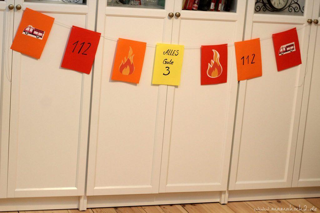 feuerwehrparty diy ideen kindergeburtstag firefighter party inspiration (24)