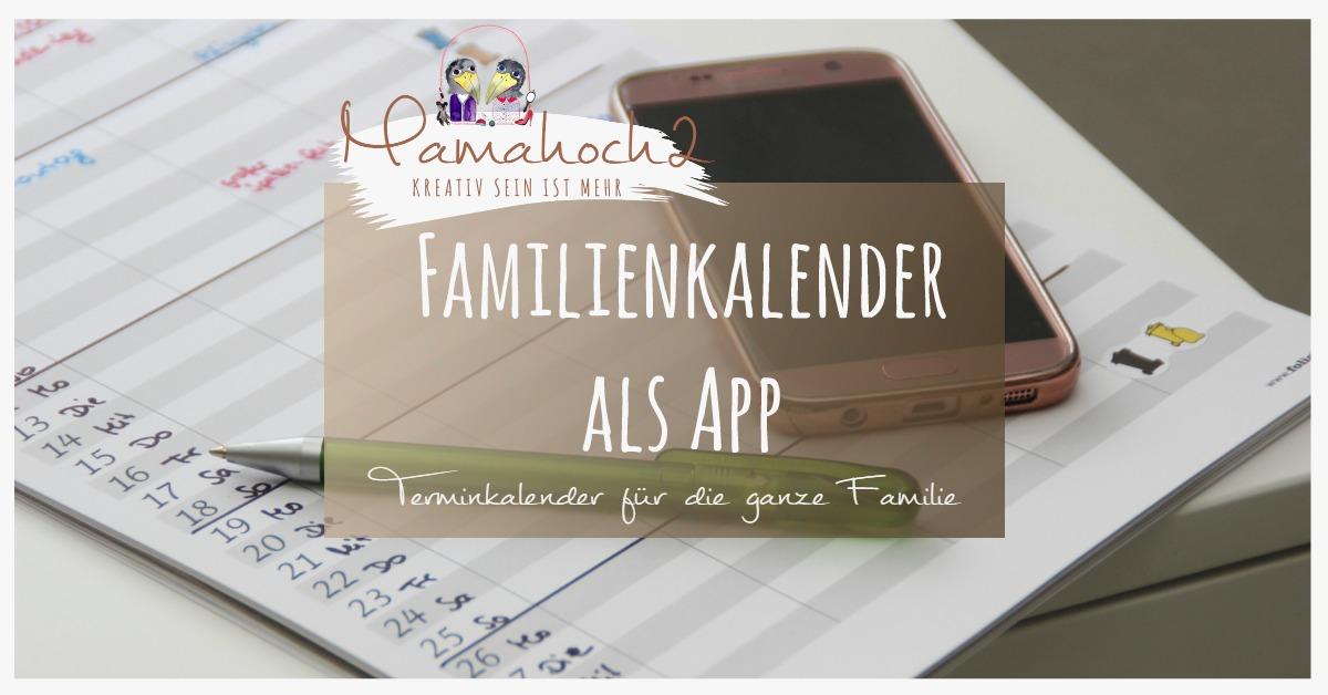 Familienkalender App Test für die ganze Familie