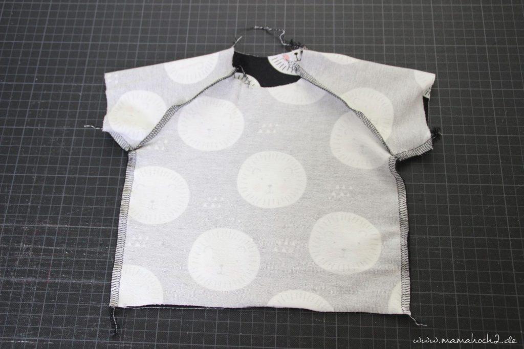 Nähanleitung Freebook: Ein T-Shirt für dein Baby nähen ⋆ Mamahoch2