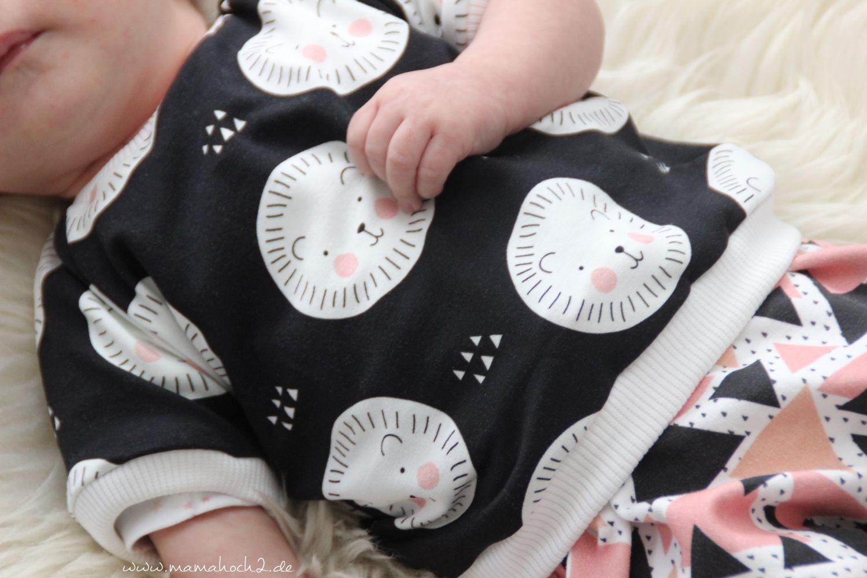 Schnittmuster Nähanleitung baby T Shirt Autumn Rockers Mini und Baby (24)