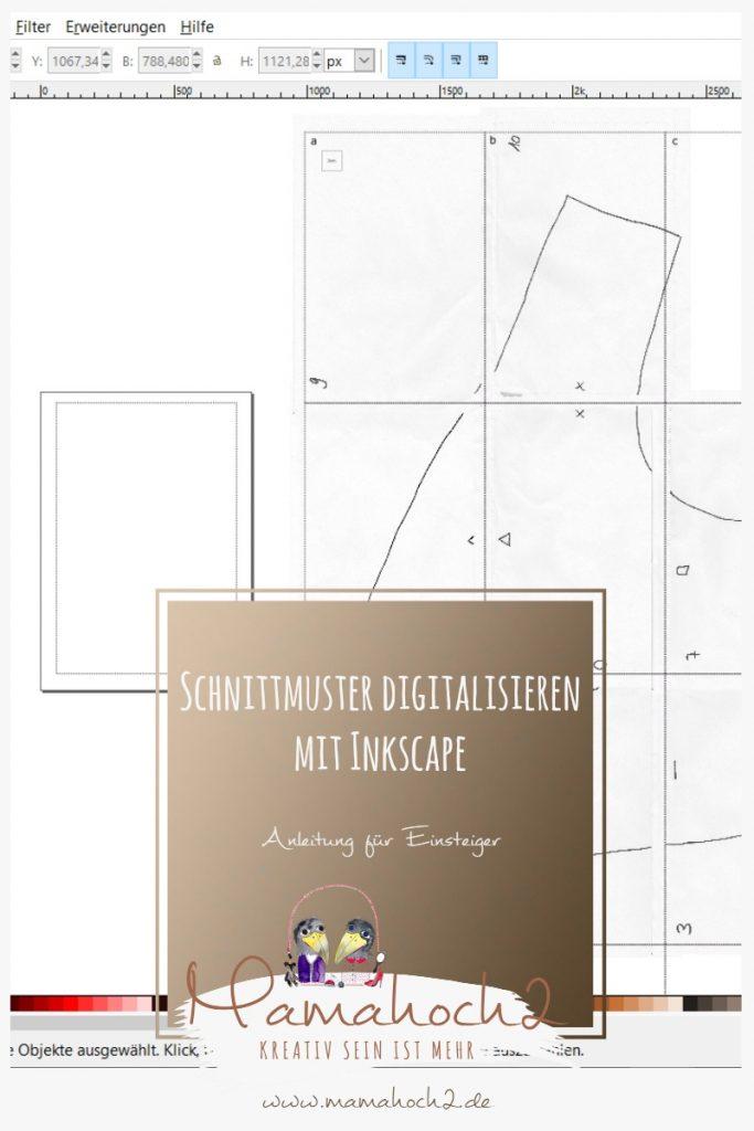 inkscape schnittmuster digitalisieren 6