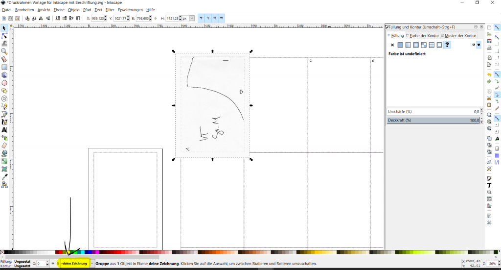 inkscape schnittmuster digitalisieren2