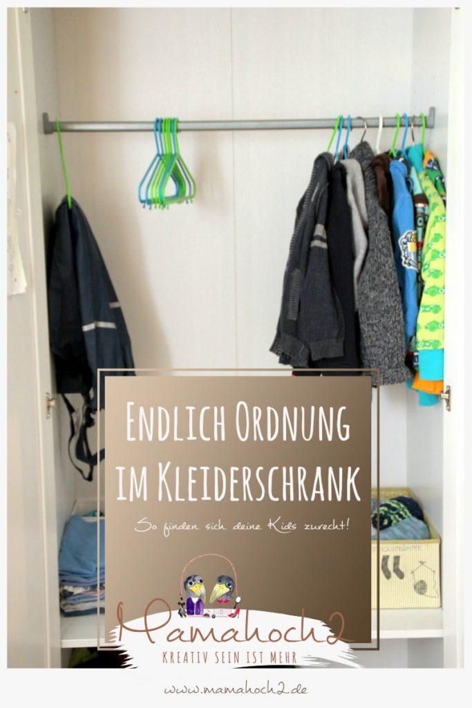 Wie du den kleiderschrank im kinderzimmer ordentlich for Minimalismus im kleiderschrank