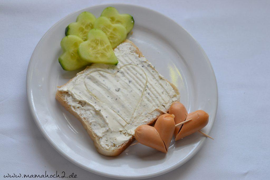 Foodteller . Essen für Kinder . dekorierte Teller 6