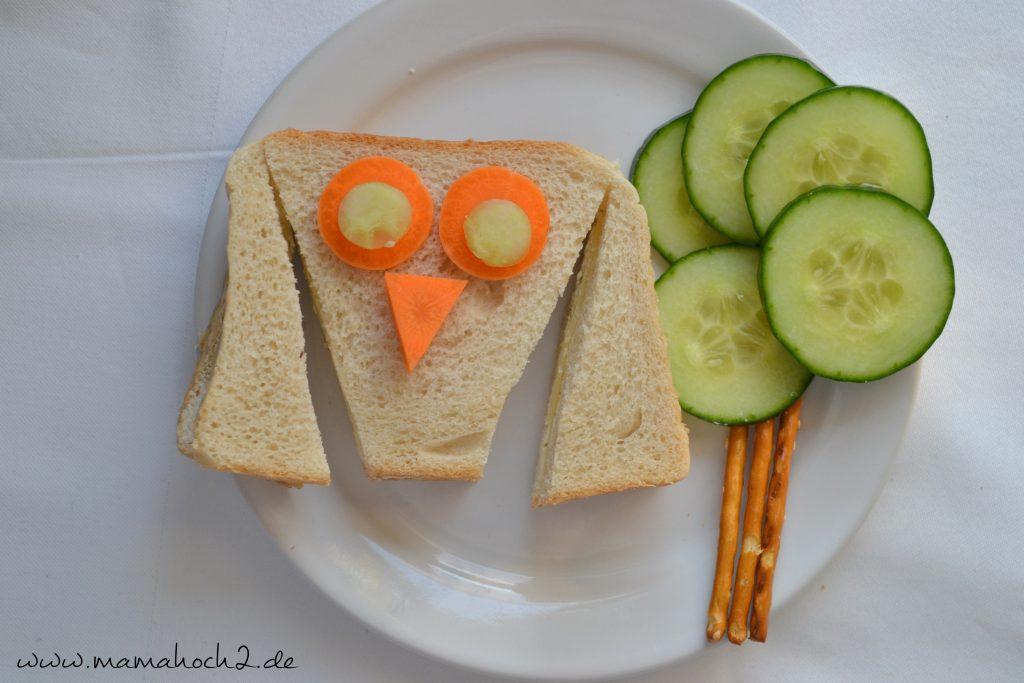 Foodteller . Essen für Kinder . dekorierte Teller 7