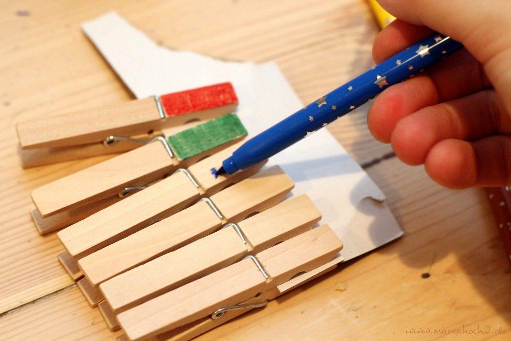 klammern lernspiele montessori für zu hause lernen fürs leben diy kinder (5)