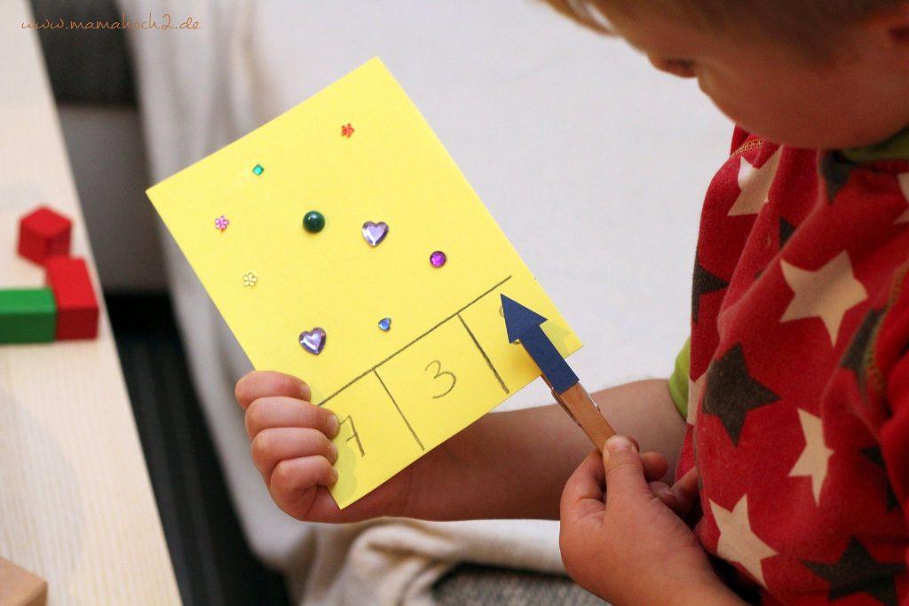 lernspiel montessori zahlen zählen lernen