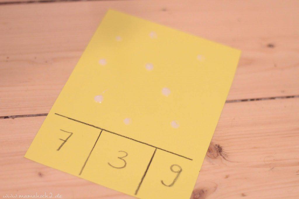 vorschule übungen montessori lernkarten zählkarten klammern mamablog (3)