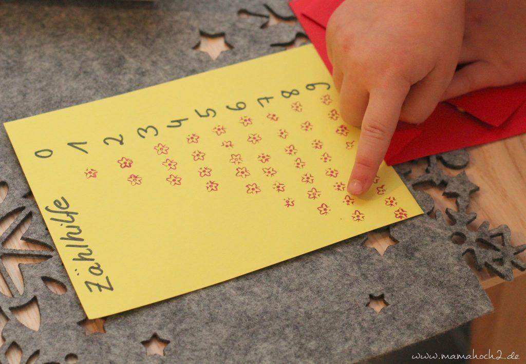 vorschule übungen montessori lernkarten zählkarten klammern mamablog (5)