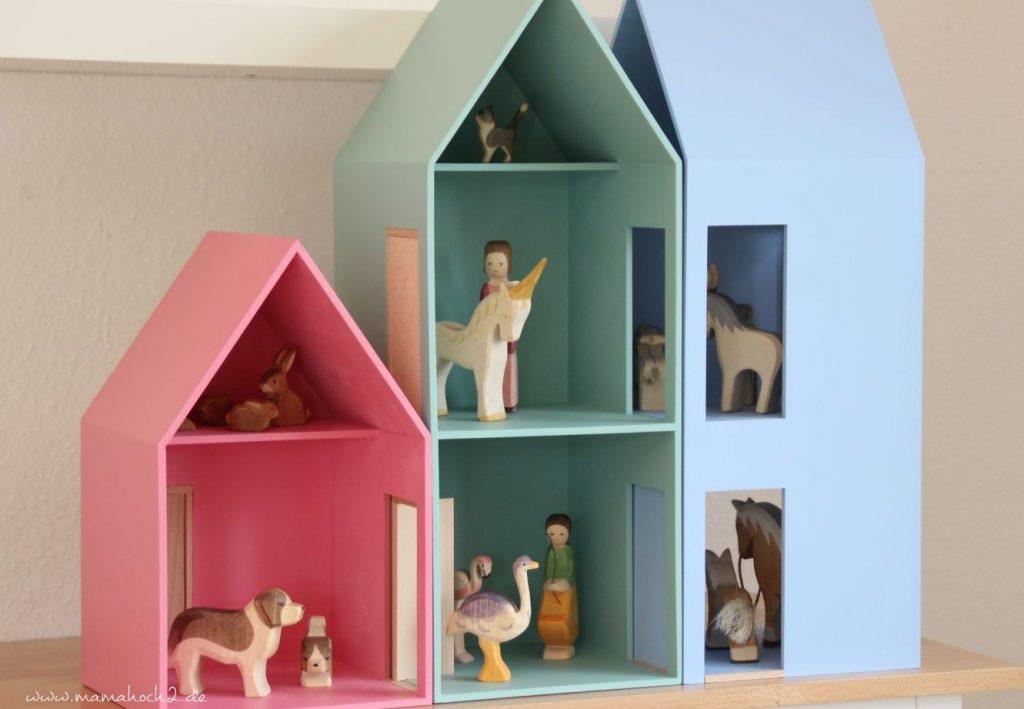 Puppenhäuser aus Holz Puppenhaus System von Helga Kreft (7)