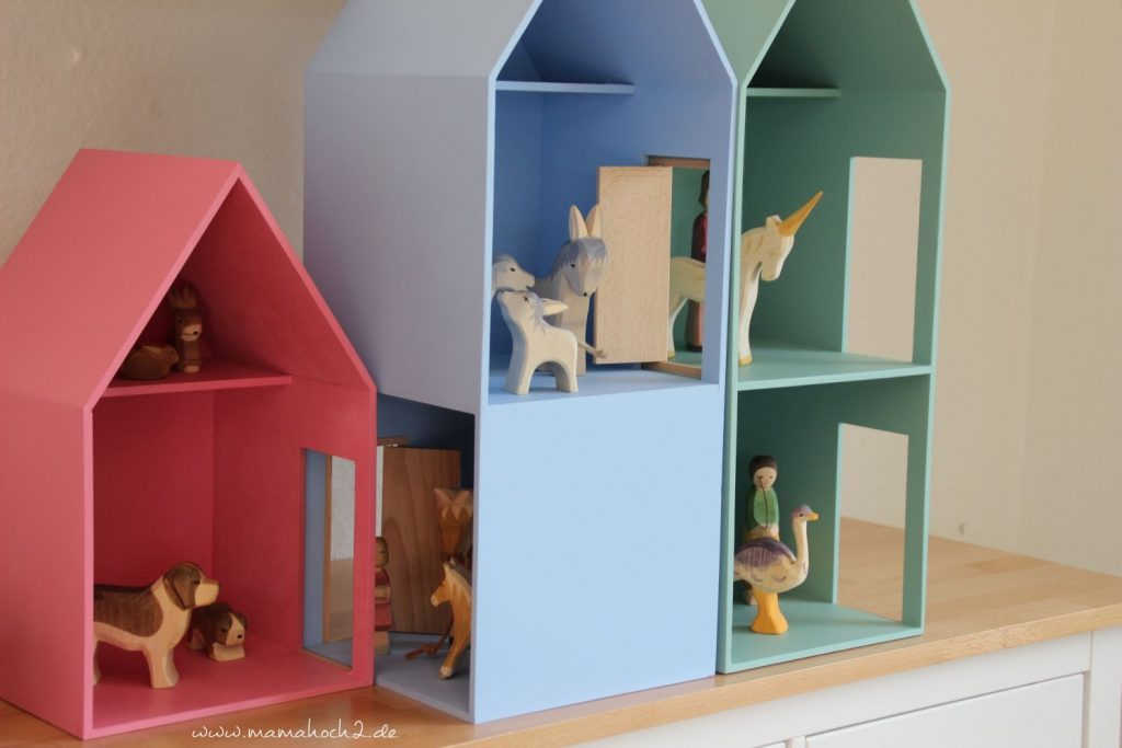 Puppenhäuser aus Holz Puppenhaus System von Helga Kreft (8)