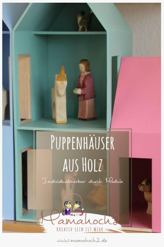 Puppenhaus aus Holz Individualisierbar durch Module Helga Kreft
