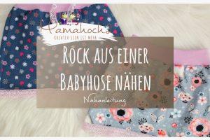 Nähanleitung Rock aus babyhose Babypump Rockers