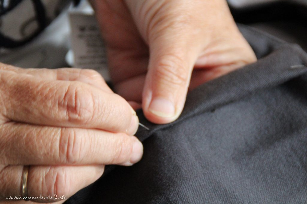 hose kürzen anleitung nähen jeanshose (4)