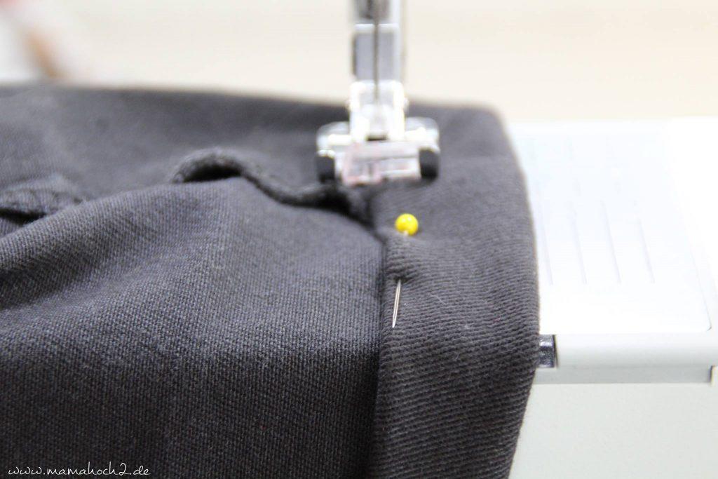 hose kürzen anleitung nähen jeanshose (6)