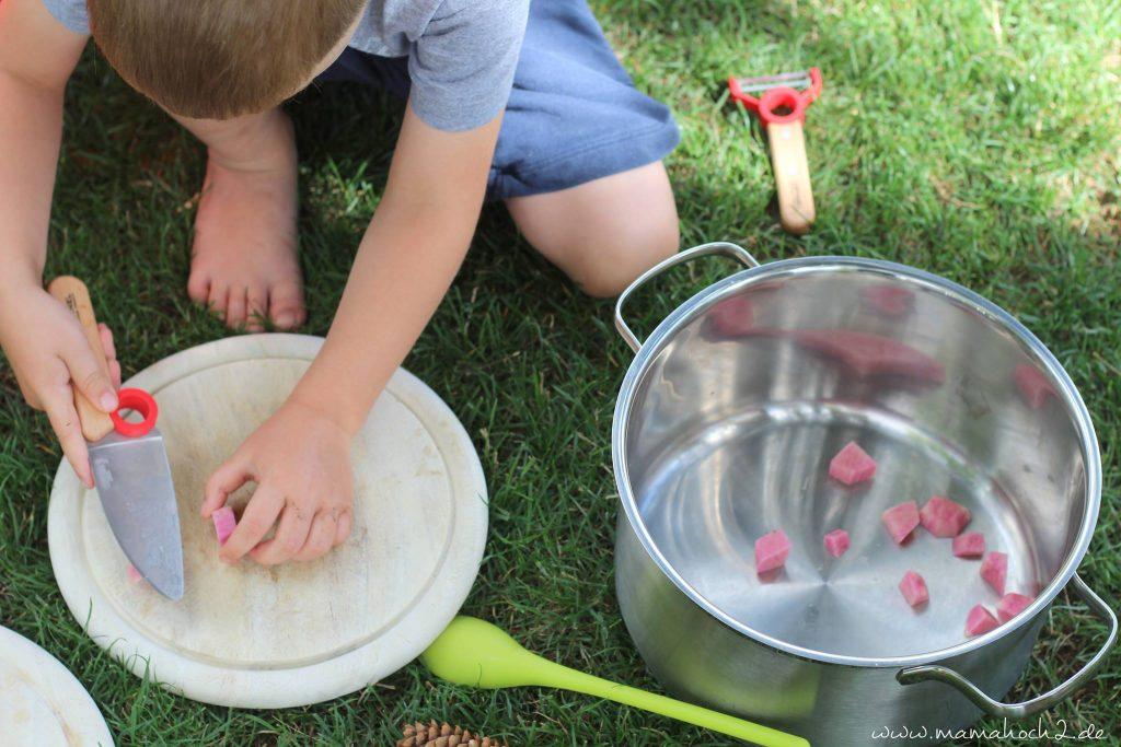 kinder in der küche kochen für kinder montessori selbständig sein (3)