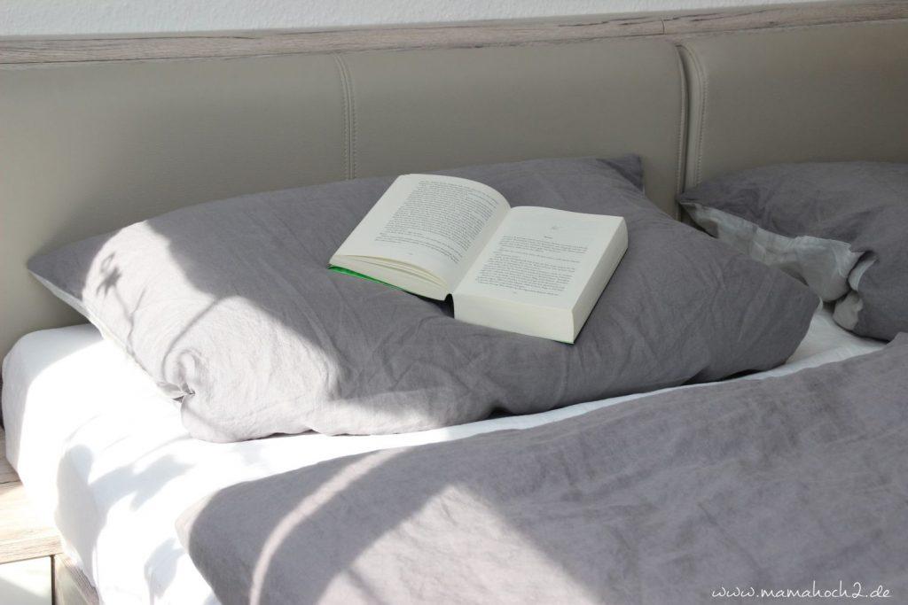 Die neue Bettwäsche von eve mattress rundet das Gesamtpaket ab ...