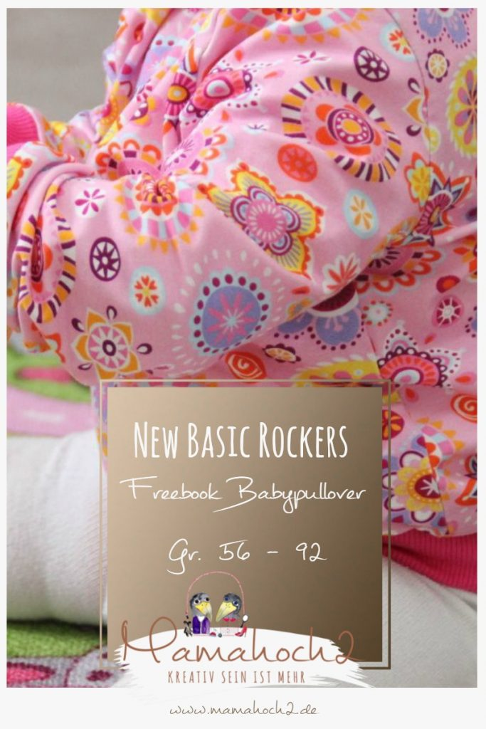 New Basic Rockers Babpullover Freebook Schnittmuster