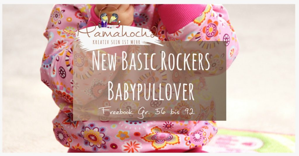 New Basic Rockers Freebook Babypullover