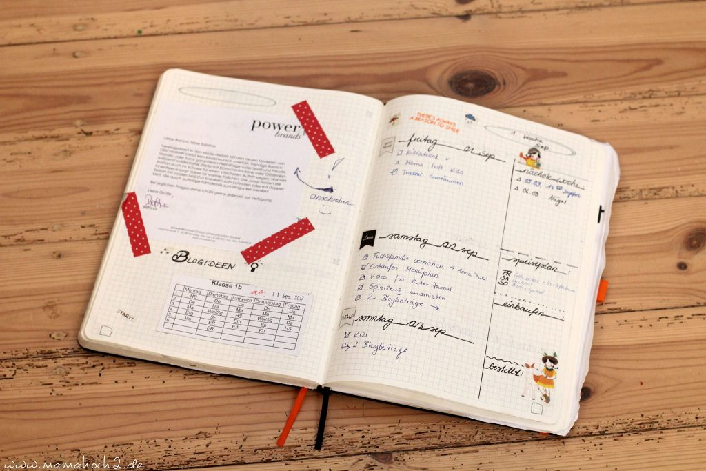 bullet journal bujo bulletjournaling weekly spread (2)